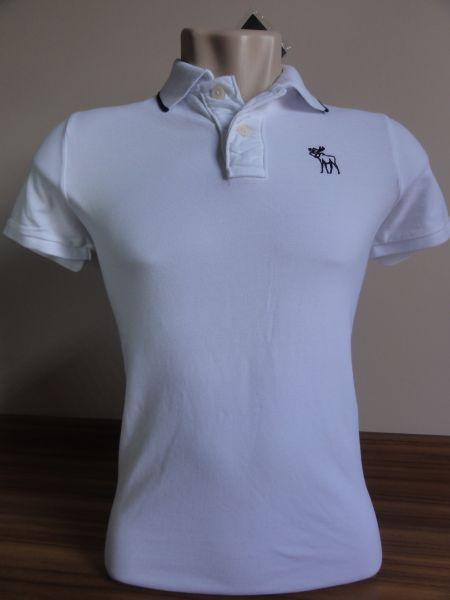 Camisa Abercrombie Polo Branca