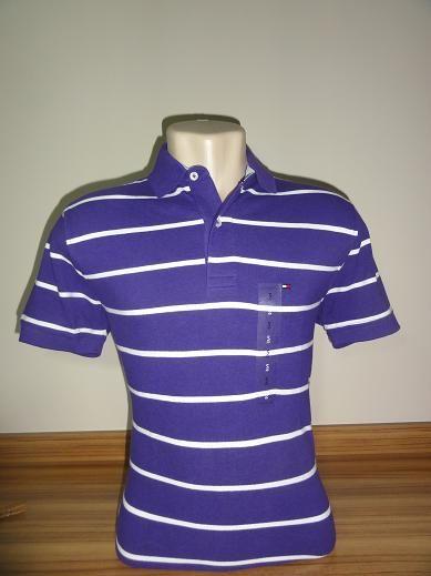 Camisa Polo Masculina Tommy Hilfiger Tam. P (Roxo e branco) - Meus ... e0b9e04c0e934