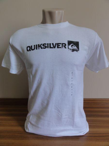 Camiseta Masculina Quiksilver Branca Tam. M - Meus Importados USA d1fbb549ef1