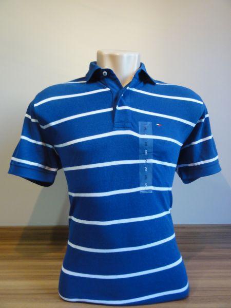Camisa Polo Masculina Tommy Hilfiger Listrada Tam. P - Meus ... a0ee0654b772e