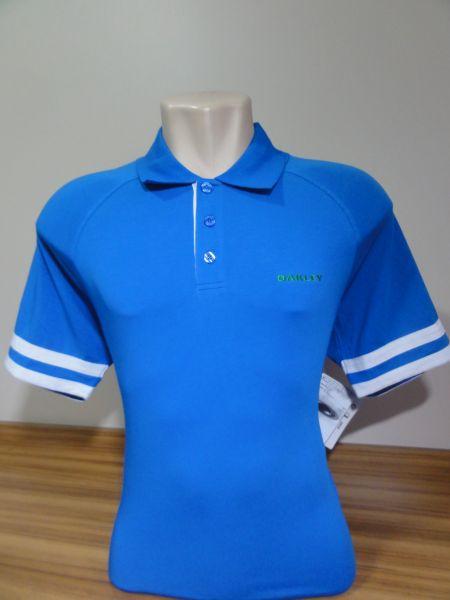 Camisa Polo Oakley Masculina Azul Royal Tam. G - Meus Importados USA 75a275a080733