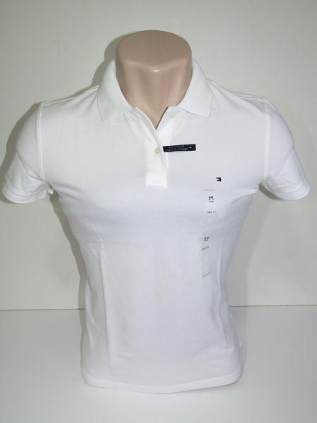 Camisa Polo Feminina Tommy Branca Tam P - Meus Importados USA 3f1b8c01c5b64