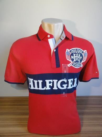 Camisa Polo Masculina Tommy Hilfiger Edição Especial Tam M - Meus ... 002b733e48244