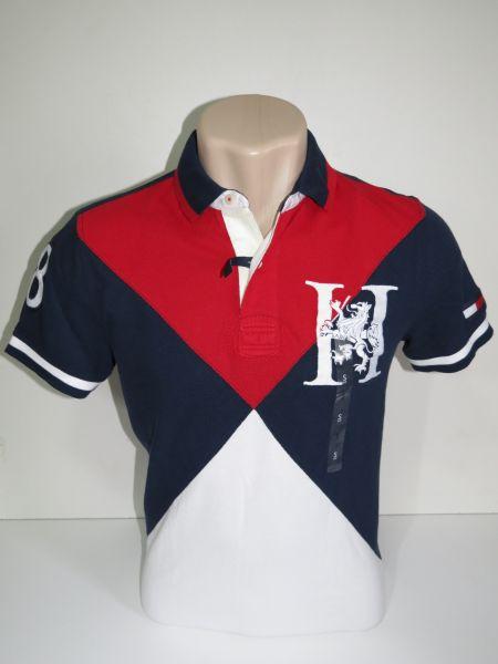 4b69b43f8e Camisa Polo Masculina Tommy Hilfiger Verm azul Tam M - Meus ...