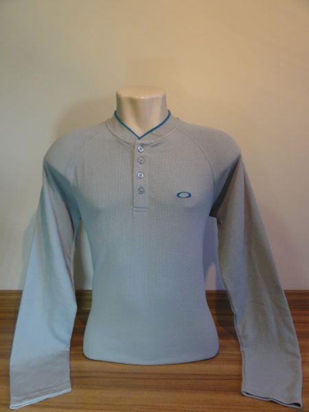 Camisa Manga Longa Oakley Tam. G Cinza Médio - Meus Importados USA bc86e01c2cad0