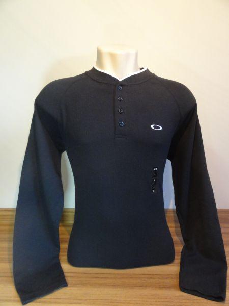 Camisa Manga Longa Oakley Preta Tam. G - Meus Importados USA 55875292819d8