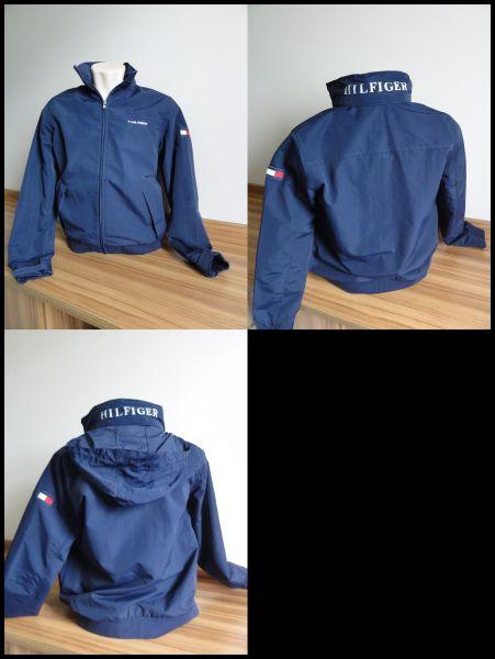 Jaqueta Tommy Yacht Azul Marinho Tam P Meus Importados Usa